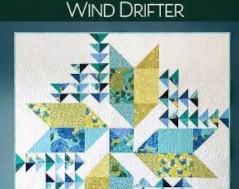 Wind Drifter Quilt Pattern, Robin Pickens, Robin Pickens, Inc., Quilt Pattern, Fat Eights Friendly