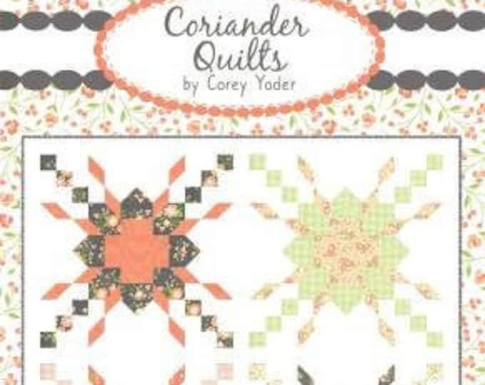 Sparklers #149 Quilt Pattern, Corey Yoder, Coriander Quilts, Quilt Pattern