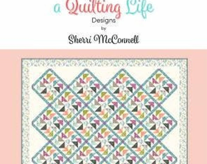 Flight Quilt Pattern #193, Sherri McConnell, A Quilting Life Designs, Quilt Pattern, Fat Quarter Quilt, Fat Eighth Quilt