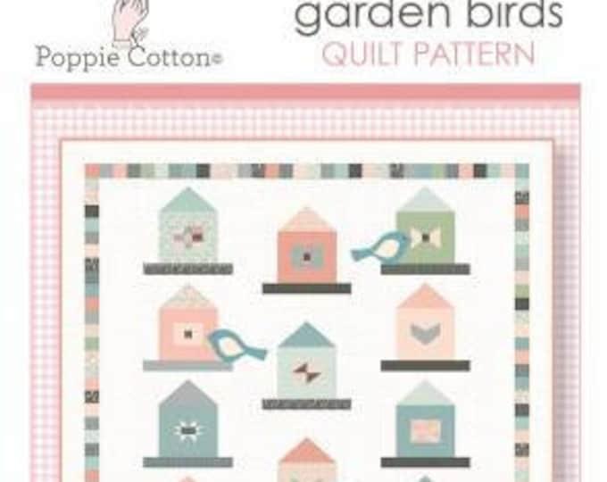 Woodland Songbird Quilt Pattern, Poppie Cotton, Quilt Pattern, Intermediate to Advanced Skill Level