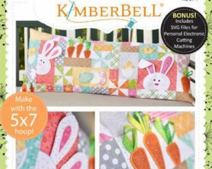 Hoppy Easter Bench Pillow Quilt Pattern, Kim Christopherson, Kimbebell, Quilt Pattern
