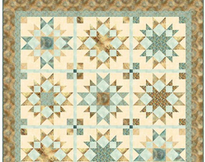 """Arabesque Quilt Kit, 61 x 68"""", Quilting Treasures, Cotton Quilting Fabric, Medallion Fabric"""