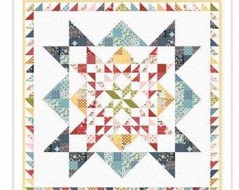 Farm Girls Unite Stand United Quilt Pattern, Poppie Cotton, Quilt Pattern