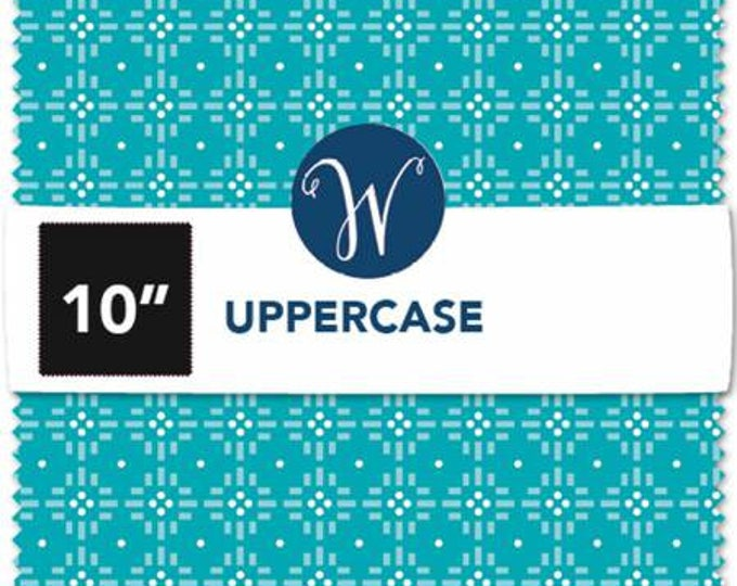 Upper Case Volume 2 2 1/2 Inch Strips Jelly Roll Cotton Quilting Fabric, 40 Pieces, Janine Vangool Collection, Windham Fabrics.