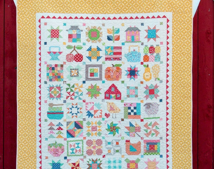 Farm Girl Vintage - Softcover, 14 Projects, Lori Holt, It's Sew Emma, Quilt Book,