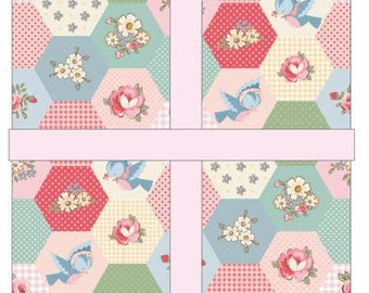 Dots & Posies 10-Inch Squares Layer Cake, 42 Pieces, Sheri McCulley, Poppie Cotton, Cotton Quilt Fabric, Floral Fabric
