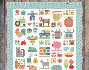 Farm Girl Vintage 2 - Softcover, Lori Holt, It's Sew Emma, Quilt Book