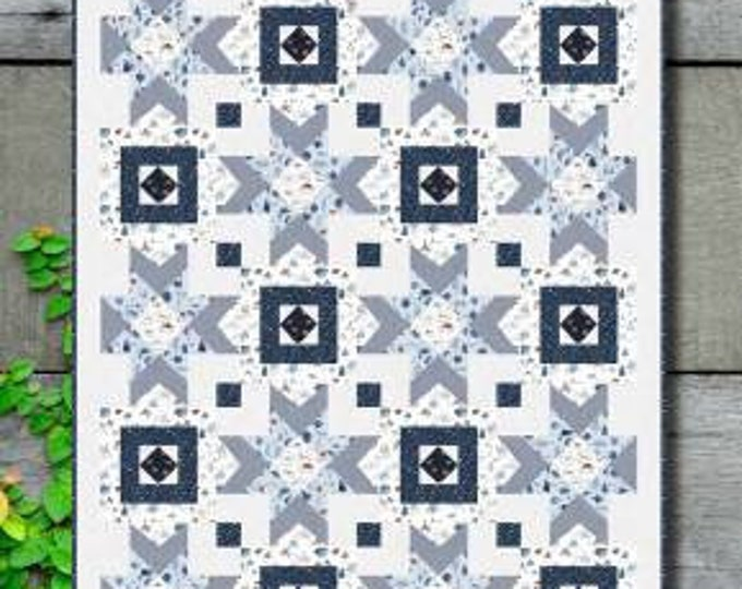 Counting Stars Quilt Pattern, Denise Russell, Pieced Brain, Quilt Pattern, Star Pattern