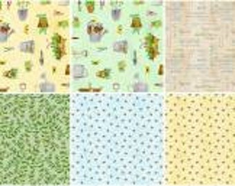 From the Garden 2 1/2 Inch Strips Jelly Roll, 40 Pieces, Jane Maday Collection, Wilmington Prints, Precut Fabric, Quilt Fabric, Cotton