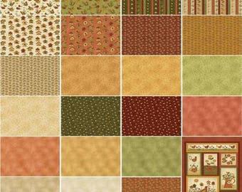 Chicks on the Run Fat Quarter Bundle, 20 Pieces, Cheryl Haynes, Benartex, Precut Fabric, Quilt Fabric, Cotton Fabric, Chicken