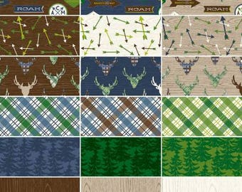 Great Outdoors 2 1/2 Inch Strips Jelly Roll, 40 Pieces, Riley Blake Designs, Precut Fabric, Quilt Fabric, Cotton Fabric