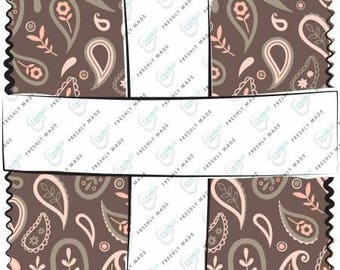 Olivia 10 Inch Squares Layer Cake, 42 Pieces, Camelot Collection, Camelot Fabrics, Precut Fabric, Quilt Fabric, Cotton