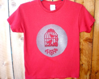 Kids with Attitude - Hand stenciled funny t-shirts for kids