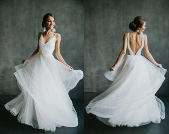 Boho Prom Dress Etsy
