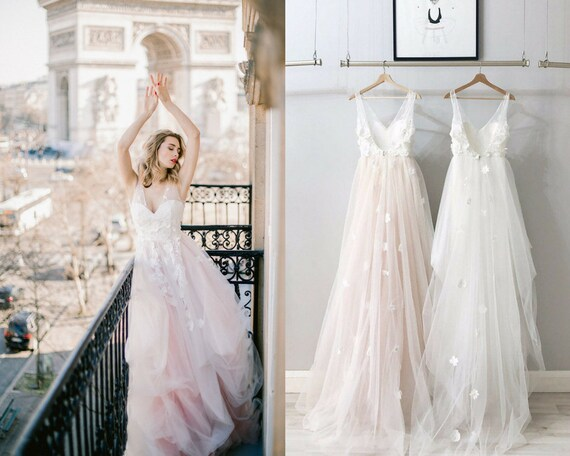 Summer Tulle Wedding Dress