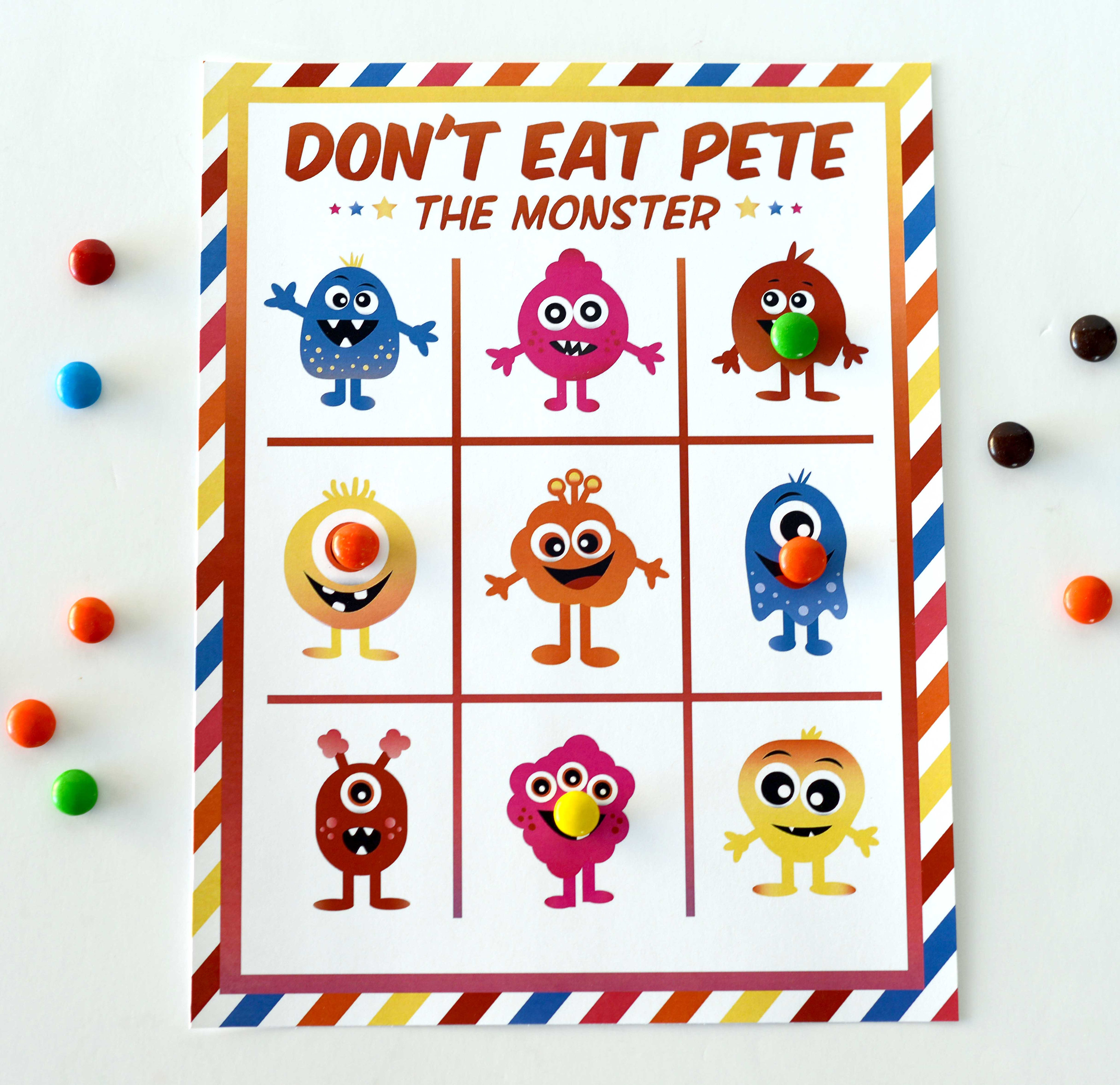 photo relating to Don T Eat Pete Printable titled Dont Take in Pete the Monster Printable Match Printable Down load Dont Take in Pete