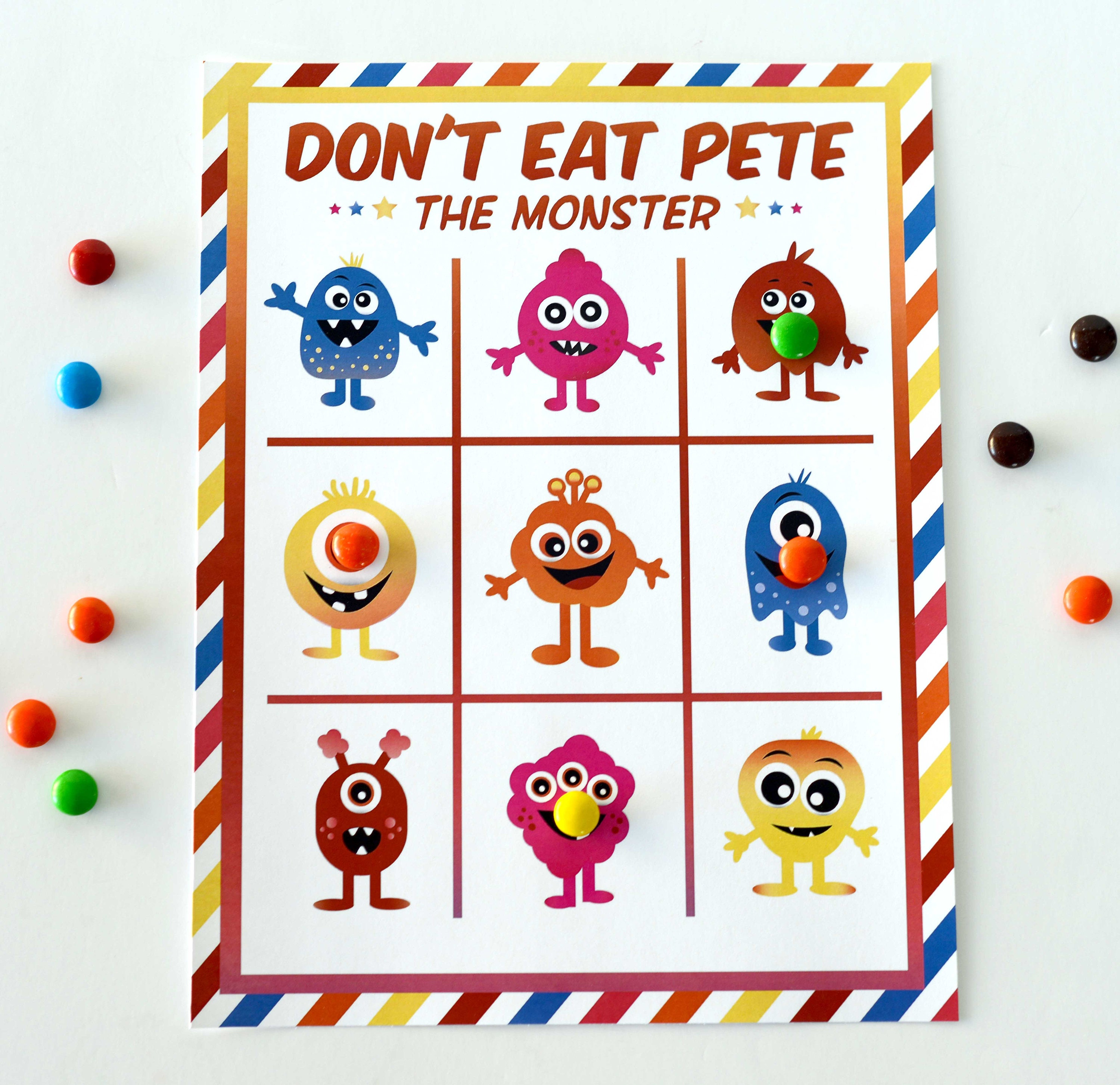 picture about Don't Eat Pete Printable identified as Dont Consume Pete the Monster Printable Activity Printable Obtain Dont Try to eat Pete