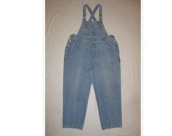 dce4cab3887 Vintage JLNY Denim Bib Overalls Jeans Women s Plus Size 20