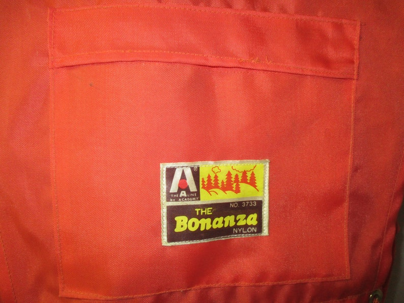 Vintage The A Line by Academy BONANZA 3733 Aluminum External Frame Hiking Backpack
