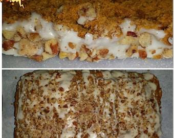 4 Loaves Homemade Pumpkin Pecan Bread