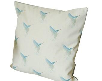 Kingfisher Cushion