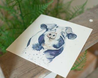 Percy Pig Card