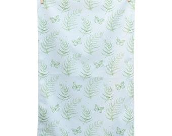 Fern Leaf and Butterfly tea towel