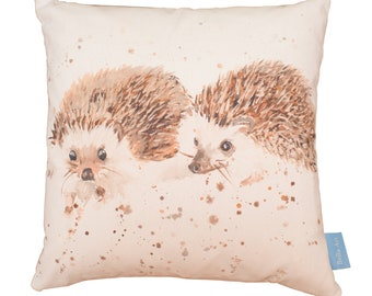 Mr and Mrs Hedgehog Cushion