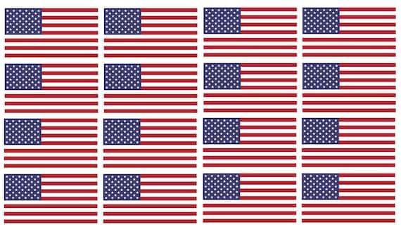 edd2aecd6db x12 American Flag 3 Helmet USA Vinyl Sticker Decal