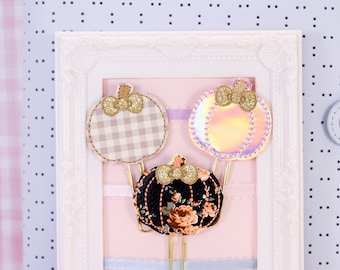 Pretty Pumpkins Planner Clips | Planner Accessories, Bookmarks, Stationery Gifts
