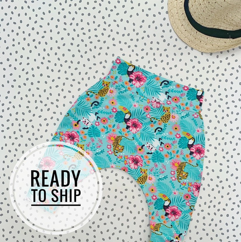 621ea2c2 Baby harems leggings comfy hareem pants for baby boy or | Etsy