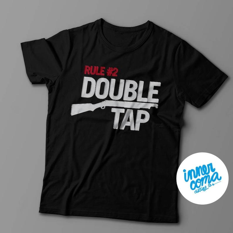 Rule 2 Double Tap T-shirt image 0