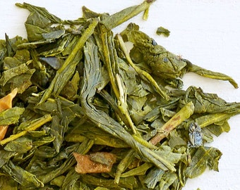 GRANNY SMITH APPLE - Organic Loose Tea, Green Tea, Revitalize & experience hints of sweet caramel