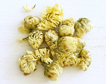 Chrysanthemum Flower - Organic Loose Herbal Tea, Top Selling Items for mom, Relaxing, honey-scented herb is the perfect bedtime treat