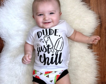 DUDE JUST CHILL shirt