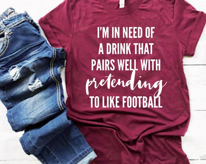 Featured listing image: FOOTBALL womens shirt