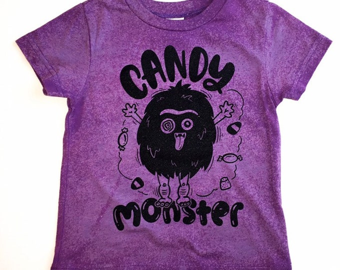 Featured listing image: CANDY MONSTER shirt