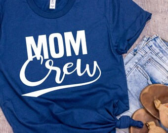 MOM CREW womens shirt