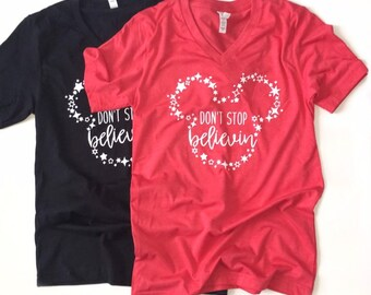 BELIEVE MOUSE shirt