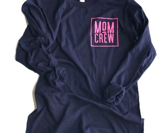 MOM CREW womens long sleeve shirt