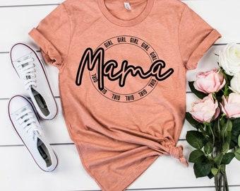 GIRL MAMA shirt