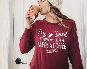 COFFEE womens lightweight pullover