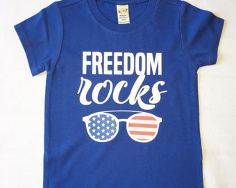 FREEDOM ROCKS shirt (multiple sizes)