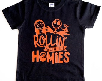 ROLLIN WITH HOMIES shirt