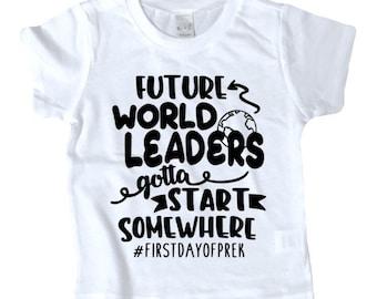 FUTURE WORLD LEADERS custom shirt