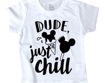 JUST CHILL MICKEY shirt