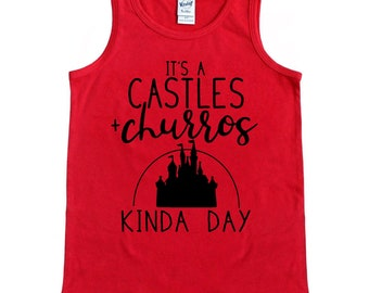 CASTLES AND CHURROS tank