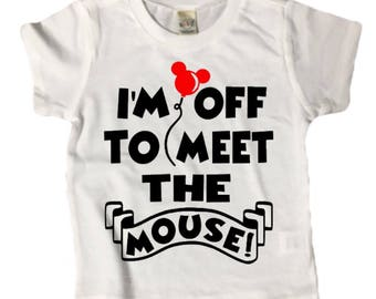 MEET THE MOUSE shirt tee