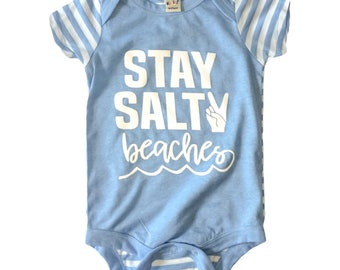 SALTY BEACHES bodysuit