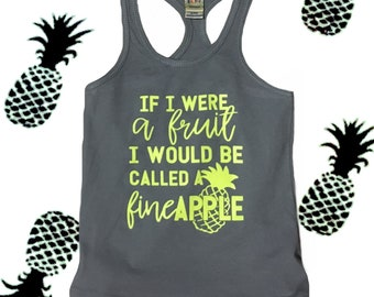 FINEAPPLE racerback tank top